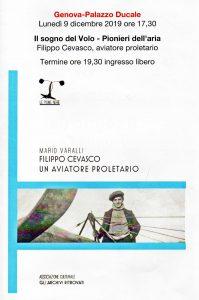 Il sogno del Volo – Pionieri dell'aria – 09.12.2019