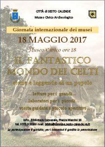 18 MAGGIO 2017 – Il fantastico mondo dei celti storie e leggende di un popolo