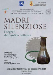 Madri Silenziose-I segreti dell'antica bellezza dal 22 Settembre al 23 Dicembre 2018