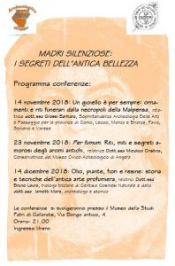 Ciclo conferenze – Madri silenziose: I segreti dell'antica bellezza