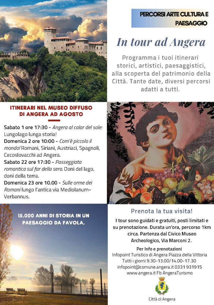 Itinerari nel Museo diffuso di Angera ad Agosto 1 – 2 – 22 – 23