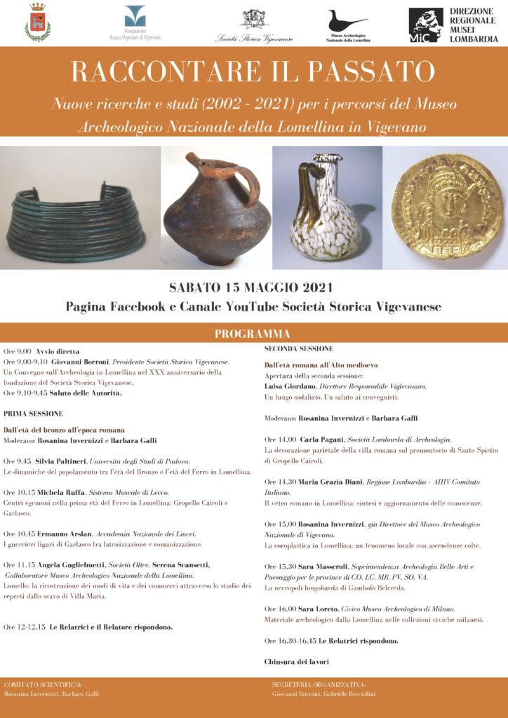 Convegno – Società Storica Vigevanese – 15 Maggio 2021