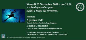 Conferenza G.S.A.C – Venerdì 23 Novembre 2018 – ore 21.00