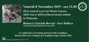 Conferenza – Venerdì 8 Novembre 2019 ore 21.00