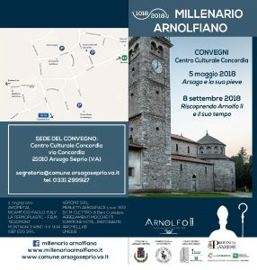 """Convegno: """"Millenario Arnolfiano"""" 5 Maggio/8 Settembre 2018"""