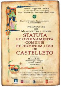 Manifesto Statuti 2019