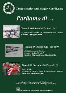 Conferenze G.S.A.C. – Ottobre/Novembre 2017